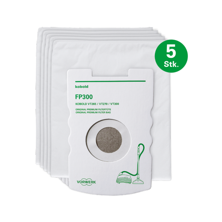 Kobold FP265-300 Premium-Filtertüte (5 Stk.)
