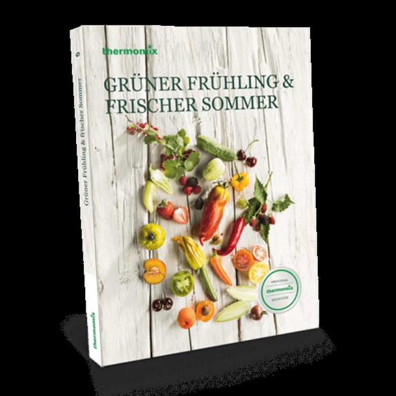 """Kochbuch """"Grüner Frühling & frischer Sommer"""""""