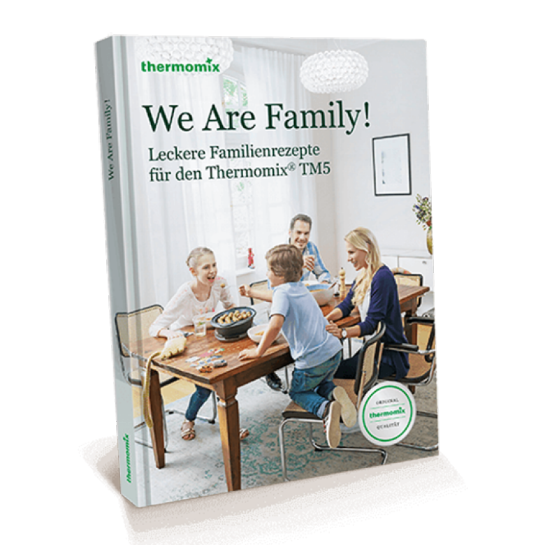 """Kochbuch """"We Are Family!"""""""