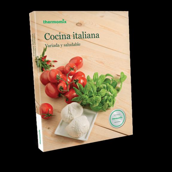 Libro de cocina - Cocina Italiana. Variada y saludable