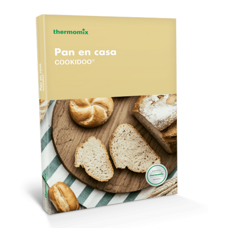 Libro de cocina - Pan en casa Cookidoo ® - Edición de Bolsillo