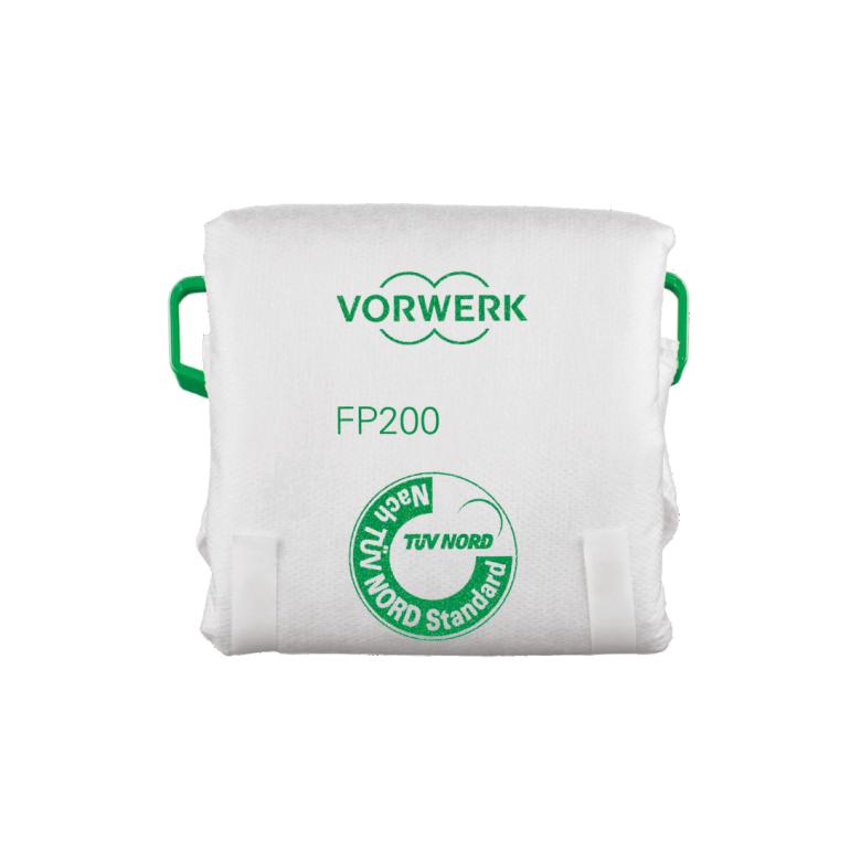 Kobold FP200 Filtertüten und Dovina Duftchips (je 6 Stk.)