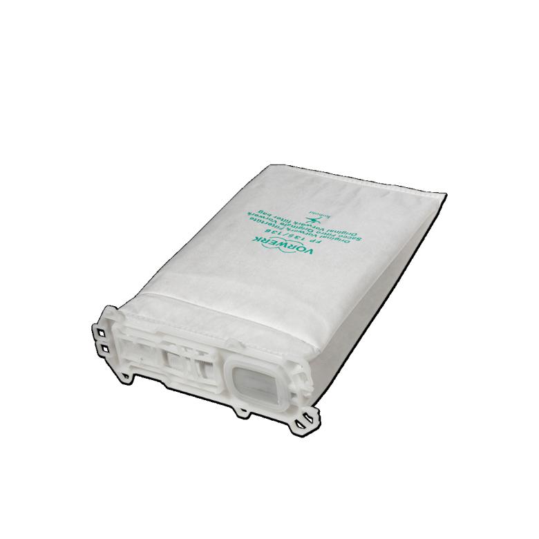 Kobold FP135/136 Filtertüten mit Aktiv-Geruchsfilter (6 Stk.)
