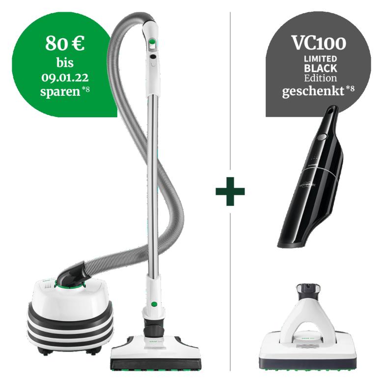 VT300 Bodenstaubsauger Rundum saugstark Paket plus