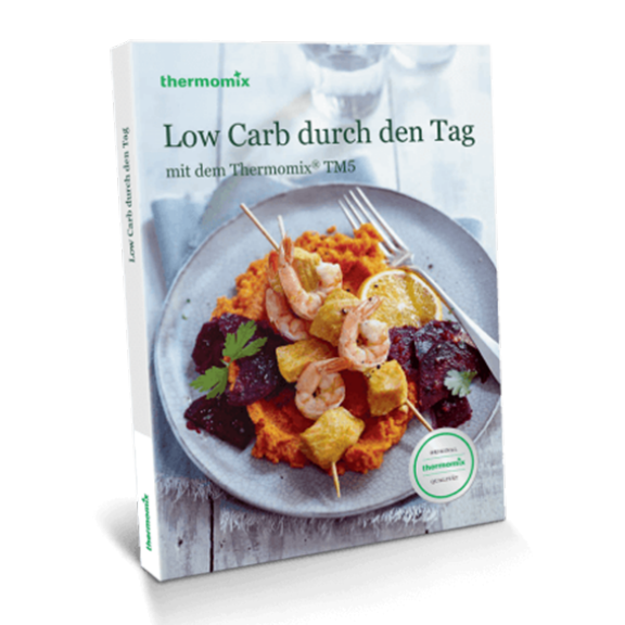 "Kochbuch ""Low Carb durch den Tag"""