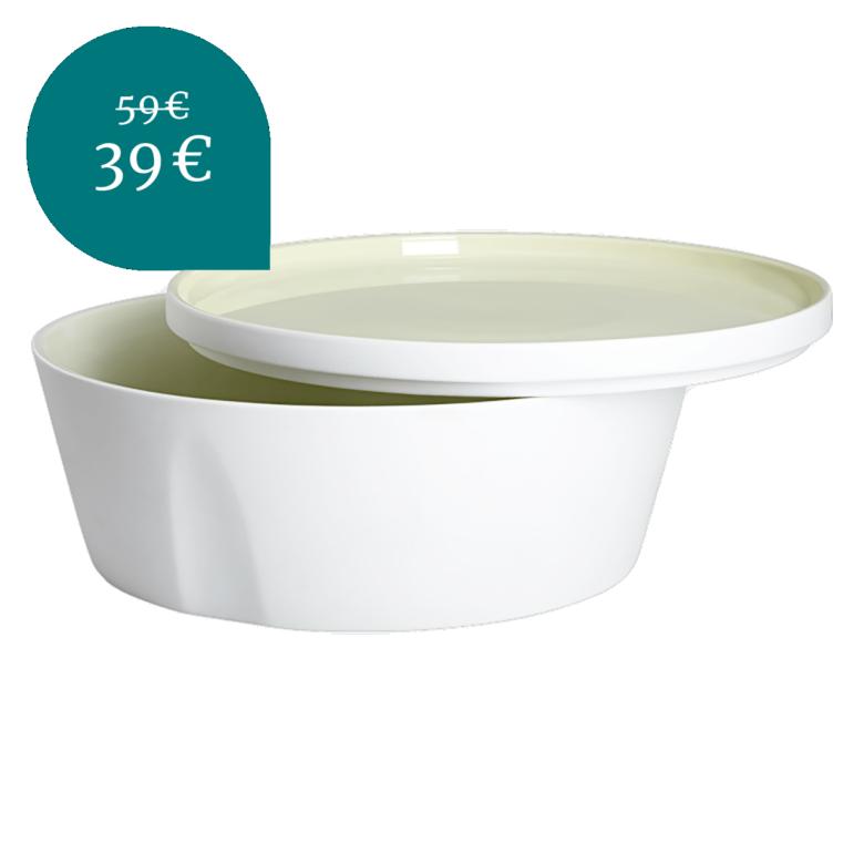 "Servierschüssel ""L'Econome by Starck"" 24cm, 2,6l grün"