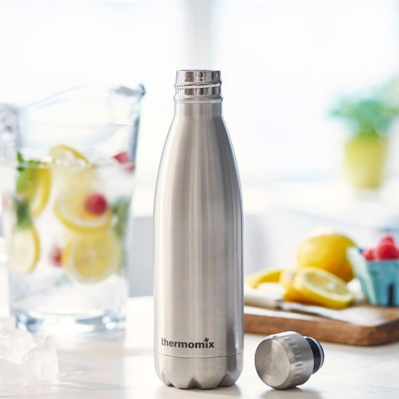FLSK Trinkflasche Silver
