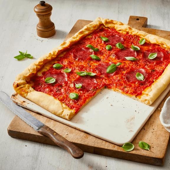 """Steingut-Form """"Pizzastein Paul"""""""