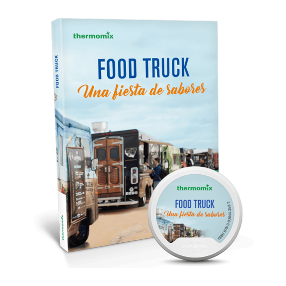 Pack libro digital + papel - Food Truck, una fiesta de sabores