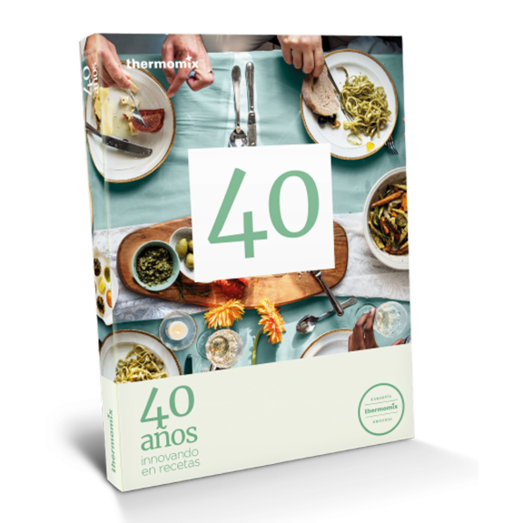 Libro de cocina - 40 años innovando en recetas