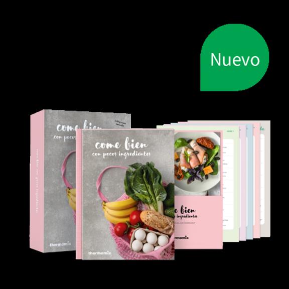 Libro de cocina - Come bien con pocos ingredientes