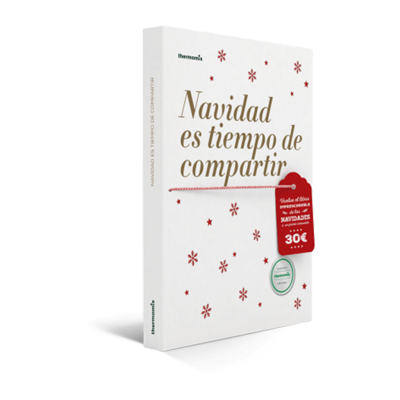 Libro de cocina - Navidad es tiempo de compartir