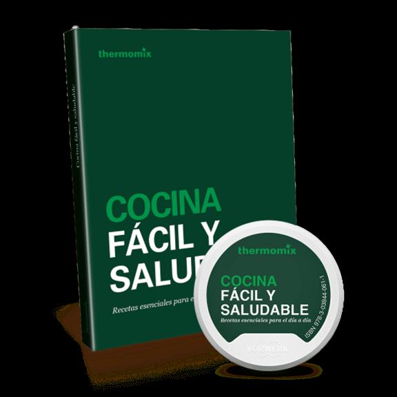 Pack Libro digital + papel - Cocina fácil y saludable