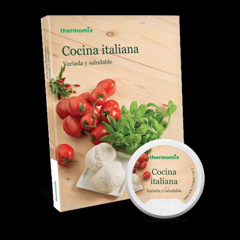 Pack Libro digital + papel - Cocina Italiana. Variada y saludable