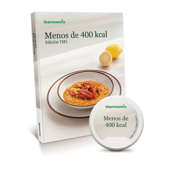 Pack Libro digital + papel - Menos de 400 Kcal