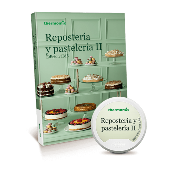 Pack Libro digital + papel - Repostería y pastelería II