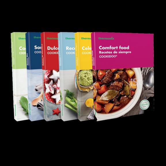 Set de libros Cookidoo ® - Edición de Bolsillo