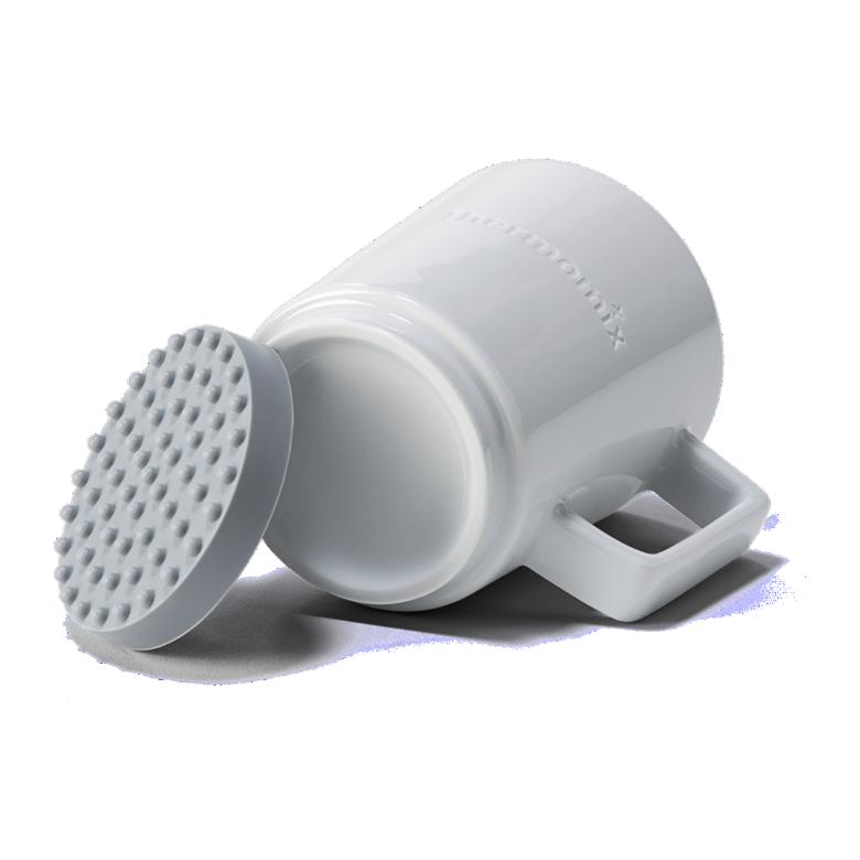 Taza con base de silicona